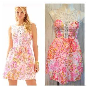 Lilly Pulitzer Raegan Fit & Flare Dress Pink Dress